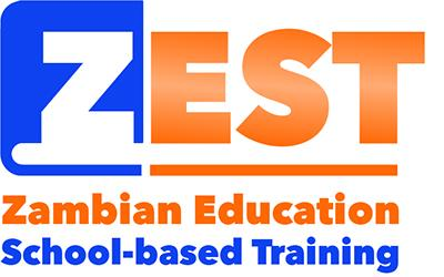 ZEST logo: Zambian Education School-based Training