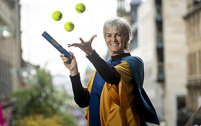 Open University Honorary Graduate Judy Murray