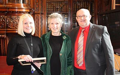 Karen Henry, Eileen Gibson and Tony Mackie