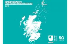 OU Roadshow Employer Events map
