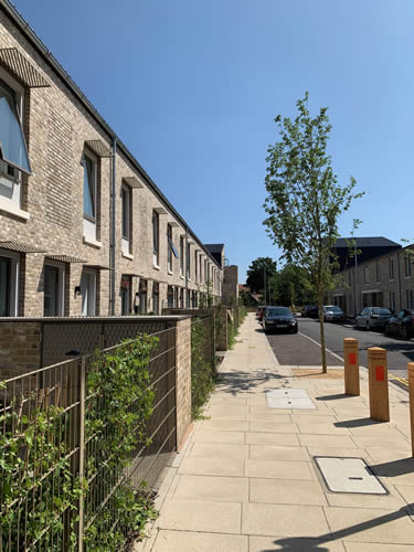 Goldsmith Street: Passivhaus social housing development for Norwich City Council, and 2019 Stirling Prize winner. Credit: Georgina Holden