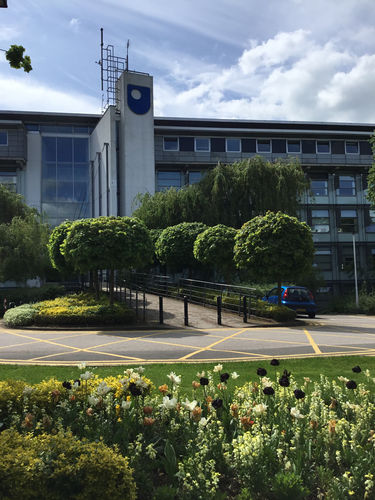 Berrill Building on the Open University campus