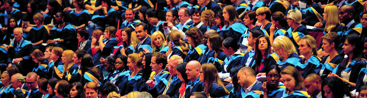 Equality and diversity - Open University graduation ceremony
