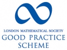 London Mathematical Society Good Practice Scheme logo