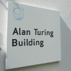 Sign for the Alan Turing Building