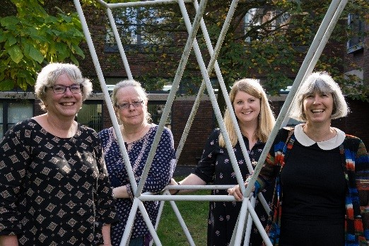 Four members of our Mathematics Education research group